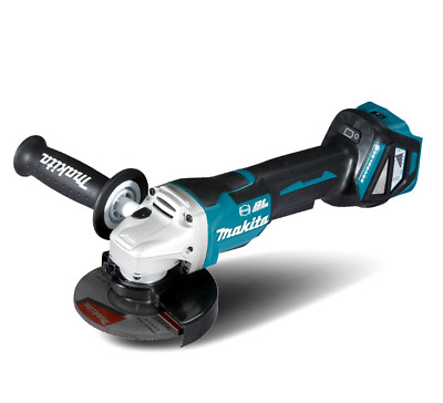 Makita 18V Li-Ion Brushless Cordless 125Mm Paddle Switch Angle Grinder Skin Only