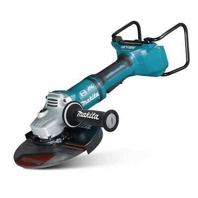 "Makita 36V (18V X 2) Li-Ion Cordless Brushless 230Mm 9"" Angle Grinder Skin Only"