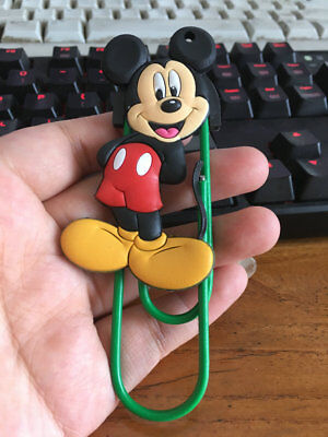 disney mickey mouse silica gel bookmark bookmarks clip clips new
