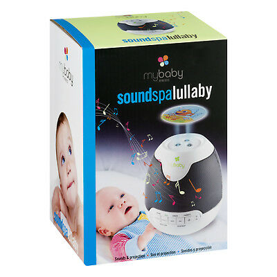 Lullaby Soundspa Mybaby And Sound Machine Sounds Projector Projection Homedics 6