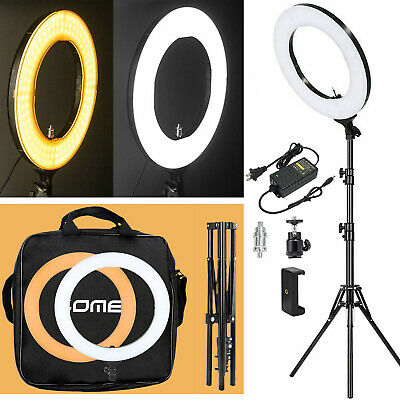 "ZOMEI 18"" 5500K Led Makeup Ring Light Video Dimmable Photography Diva Ring Light"