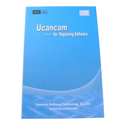 Ucancam V11 Standard Version CNC Engraving Software With Operation Video Disc