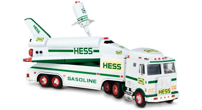 1999 HESS Toy Truck And Space Shuttle With Satellite New In Original Box