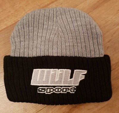 Wulfsport black//silver cap motocross MX leisure
