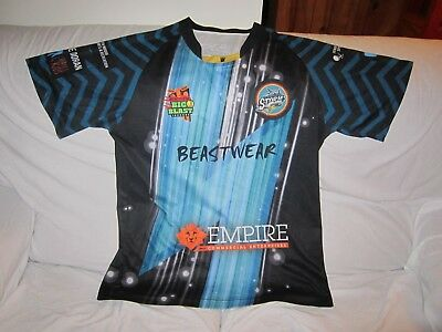 Penrith Storm Indoor Cricket Shirt Jersey Size Large #9