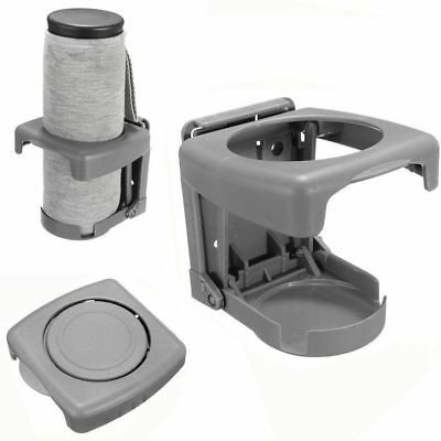 New Auto Universal Cup Stand Folding Mount Drink Bottle Holder Car Truck