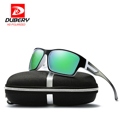 DUBERY Men Polarized Sport Sunglasses Driving Outdoor Riding Goggles New 2019