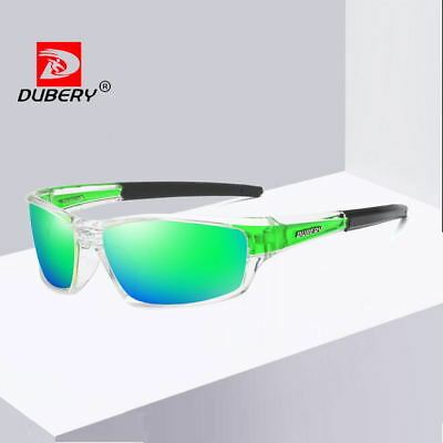 7216c280051e DUBERY Mens Polarized Sport Sunglasses Outdoor Riding Fishing Goggles New  2019