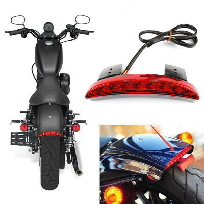 2019 Fashion 12v Chopped Fender Edge Led Motorbike Tail Light For Harley Iron Sportster Xl883 1200 Red Lens for Harley Davidson Back To Search Resultshome