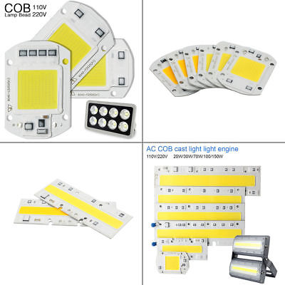 2/5x 20W 50W 100W COB LED Panel Fluter Strahler Leuchte Scheinwerfer High Power
