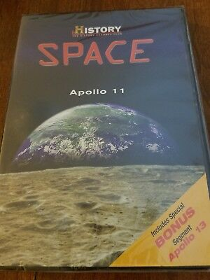 APOLLO 11 History Channel Club Space DVD
