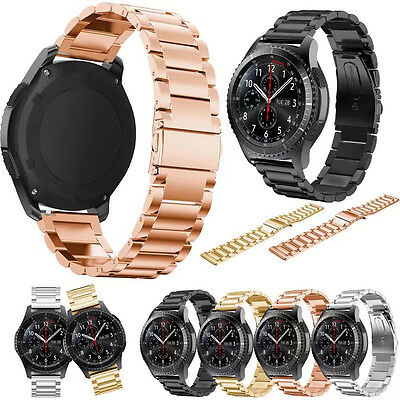 Stainless Steel Watch Bands Bracelet Straps for Samsung Gear S3 Frontier Classic