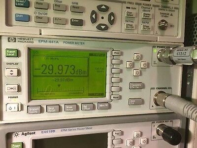 HP Agilent Power Meter EPM-441A *TESTED*