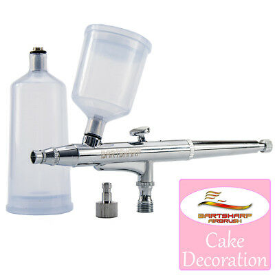 Airbrush For Cake Decoration Airbrush Cake Dual Action Gravity Feed 0.3mm