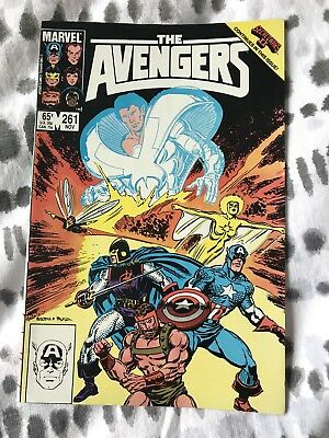 Avengers #261. Vol. 1. 1985. Marvel Comics. FN