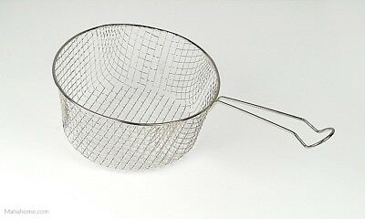 Pendeford Wire Chip Frying Basket Medium or Large for 8 inch or 9 inch Chip Pan