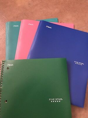 Five Star Folders , and Five star notebook