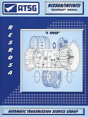 RE5R05A ATSG Transmission Rebuild Manual RE5RO5A Overhaul Book For Nissan