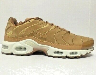 new concept 4c9d7 ccdfd Nike Air Max Plus TN Tuned 1 EF Running Shoes Beige AH9697-201 Mens Size