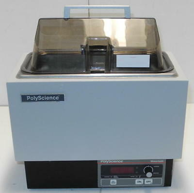 PolyScience 5L M Digital Water Bath with Clear Cover and Tray -Very Clean Unit!