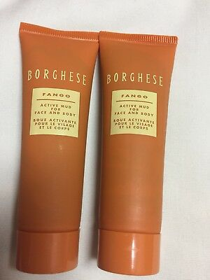 Original Borghese Active Mud For Face And Body 7.5 Oz #fango Restorativo Health & Beauty