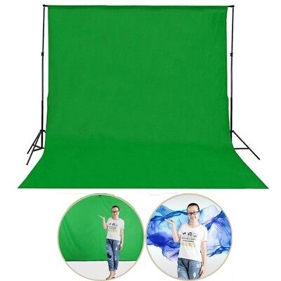 1.5x1M Photo Photography Background Cotton Chromakey GreenScreen Muslin Backdrop