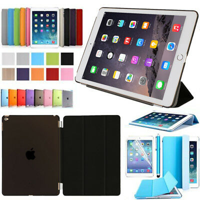 "Apple iPad (2017) 9.7"" Neu Tablet Schutz Hülle+Folie Tasche Smart Cover Case"