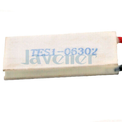 12.3x24.7mm TES1-06302 6.9V Heatsink Thermoelectric Cooler Peltier Cooling Plate