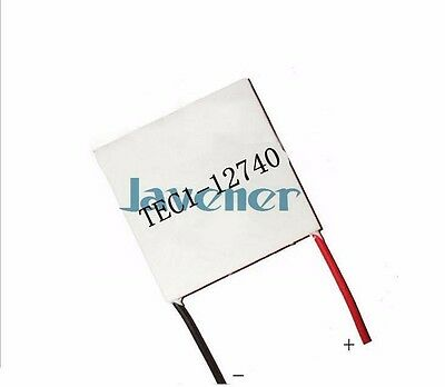 338W 62x62mm TEC1-12740 Heatsink Thermoelectric Cooler Peltier Cooling Plate