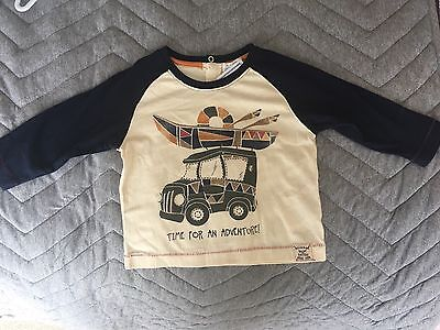 Pumpkin Patch Long Sleeved Top - 6-12 Months Brand New With Tags