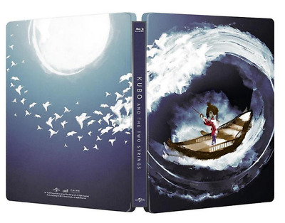 """ Kubo and the Two Strings ""  Blu-ray   STEELBOOK"
