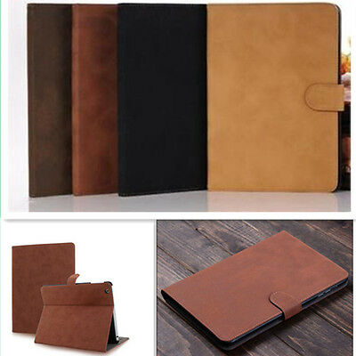 Luxury Leather Smart Case Stand Cover For iPad 2/3/4 Pro Air/Air2 mini 9.7 2018