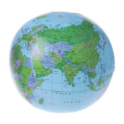 40cm inflatable earth education geography toy map balloon beach ball inflatable world map globe balloon beach ball education geography kid toys gumiabroncs Choice Image