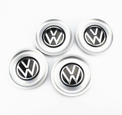 4 Genuine OEM Wheel Center Cap 1J0601149B FOR VW 1998-2005 Bora Jetta Golf MK4
