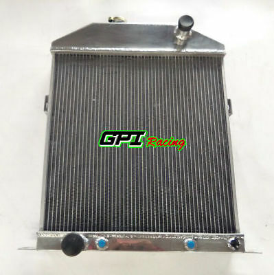 56MM For 1942-1948 43 44 45 46 Ford Mercury Coupe car Ford V8 Aluminum Radiator