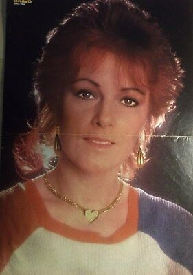 1 german poster ANNI FRID ANNIFRID ABBA SINGER N. SHIRTLESS ROCK BOY BAND BOYS