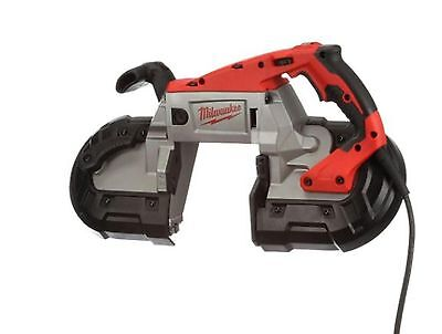 11 Amp Deep Cut Variable Speed Portable Band Saw Corded Keyless Blade Change Red