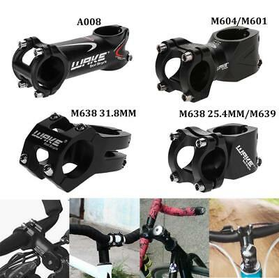 Cycling Bike Bicycle Aluminum Alloy Handlebar Stem 31.8 X 45/60/80/90MM Durable