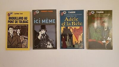 "Lot 16 BD Collection ""J'ai Lu BD"" - Tardi Moebius Bilal Pratt Franquin Manara"