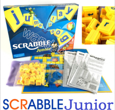 Scrabble Board Game Funny Family Game Junior Version Fun Gifts Toys New