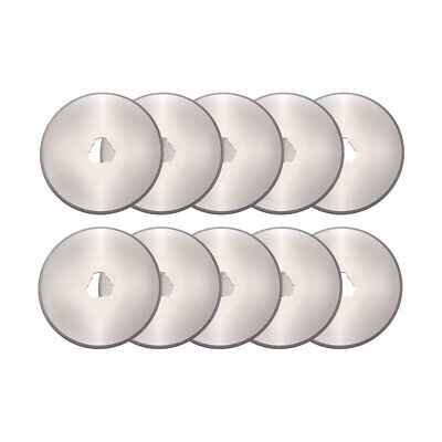 10x 45mm Circular Cutting Rotary Cutter Refill Blades Sewing Quilting Tool FA346