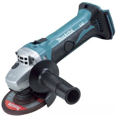 "Makita Dga452Z 18V Li-Ion Cordless 115Mm (4"") Angle Grinder Tool New  Skin Only"