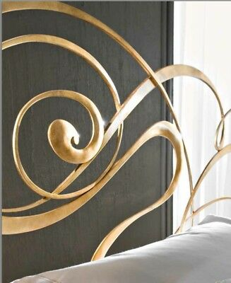 """Gold Leaf hand made by Ciacci Itallian Headboard """" The Fly Bed Headboard """""""