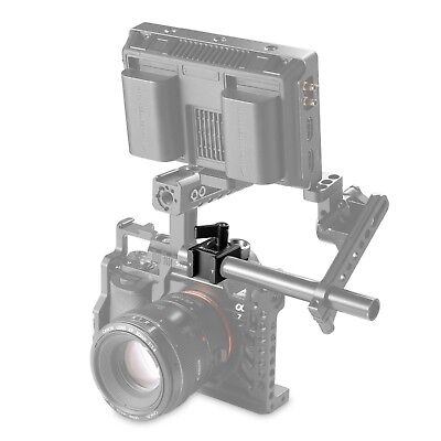 SmallRig 15mm Rail Clamp with ARRI Accessory Mount 3/8''-16 Hole DSLR Rig
