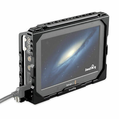 "SmallRig Monitor Cage for Blackmagic Video Assist 4K Monitor 7"" w/ W Nato Rail"