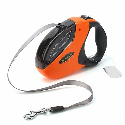 Dog Retractable Leads Large Breed Heavy Duty 110 Pounds Smooth Extending Flat