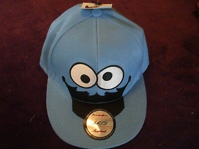 Original SnapBack Sesame Street  Cookie Monster baseball cap