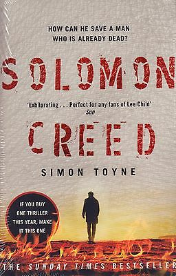 Solomon Creed by Simon Toyne BRAND NEW BOOK (Paperback 2016)