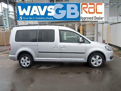 Volkswagen Caddy Maxi 1.6TD Life Mobility Wheelchair Access Vehicle Disabled WAV