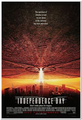 INDEPENDENCE DAY - 1996 - original 27x40 Movie Poster - Style C - WILL SMITH
